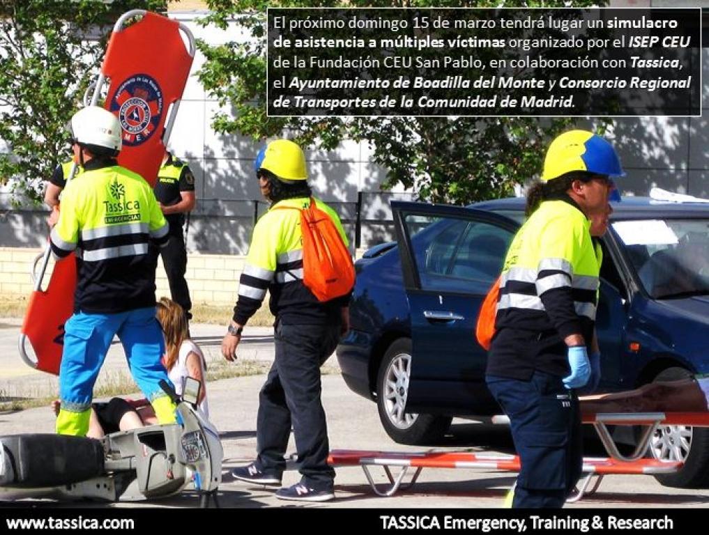 El pr ximo domingo 15 de marzo tendr lugar un simulacro for Oficina del consorcio de transportes de madrid